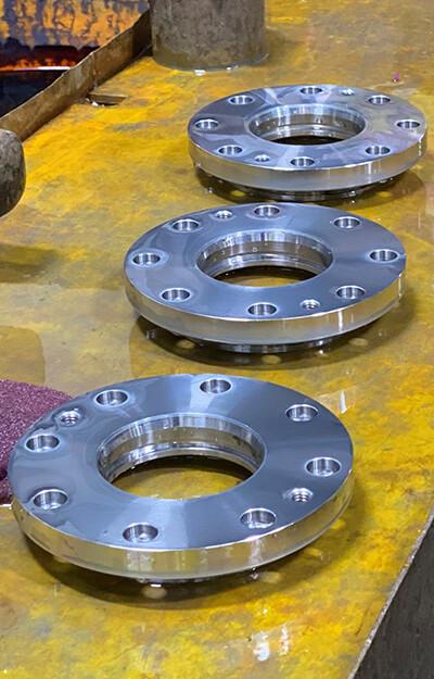 flash chrome plating on parts