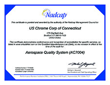 Nadcap AC7004 Certification Connecticut