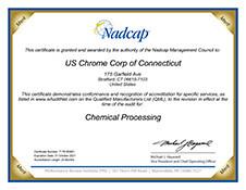 Nadcap AC7108 Certification Connecticut