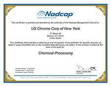 Nadcap AC7108 Certification New York