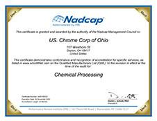 Nadcap AC7108 Certification Ohio