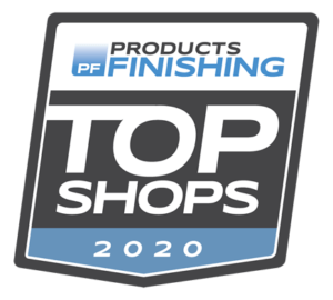 Products Finishing Top Shops logo