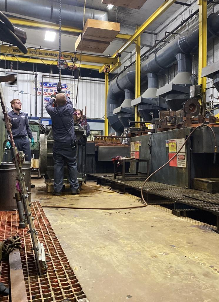 engineers at US Chrome Batavia, New York location