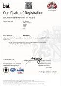 ISO 9001-2015 Certification (Illinois) 2020